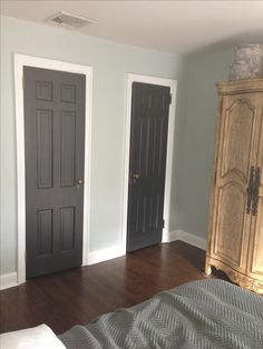 paint interior doorsThe Power of Paint Dark Painted Interior French Doors  Painting
