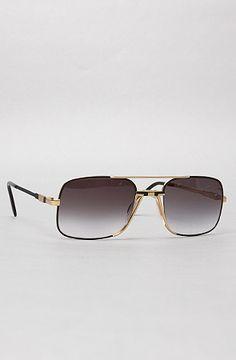The Cazal 740 Sunglasses in Black by Vintage Eyewear