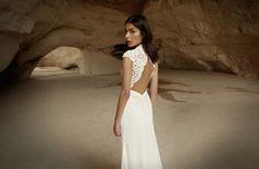 White lace wedding dress from Limor Rosen
