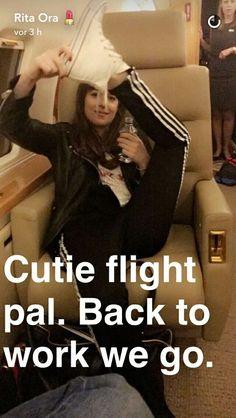 Dakota on Rita Ora snapchat