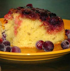 One Perfect Bite: Cranberry Upside-Down Cake