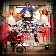 """Amador Rivas - Mandanga Style - 2015 [NOVEDAD] Amador Rivas presenta su single y un remix de Mandanga Style, con su picante letra """"No es un humano lo que ves, es un león copulador playero… Dime que te..."""