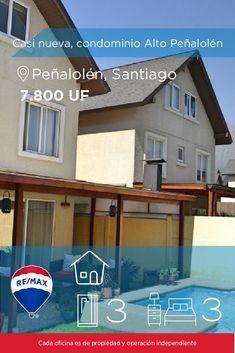 [#Casa en #Venta] - Casi nueva, condominio Alto Peñalolén 🛏: 3 🚿: 3  👉🏼 http://www.remax.cl/1028018067-31   #propiedades #inmuebles #bienesraices #inmobiliaria #agenteinmobiliario #exclusividad #asesores #construcción #vivienda #realestate #invertir #REMAX #Broker #inversionistas #arquitectos #venta #arriendo #casa #departamento #oficina #chile