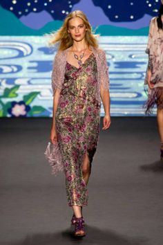 ANNA SUI SPRING 2014 READY-TO-WEAR COLLECTION