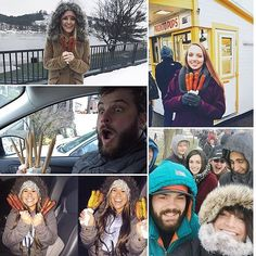 THIS JUST IN: The #ProntoPup stand has announced they are open a day early for their annual Winter Weekend! They will be open today through Sunday from 11am-8pm. Yaaay!!!  Be sure to share your Pronto Pup pics with us over the next few days by using #visitgrandhaven - here are a few of our favorites from last year! : @dannichick34 @aleahajaylene @breannadomina @shortscalecase & @erinkishman #grandhaven #puremichigan
