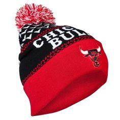 04fec1be8f4 Gorro Chicago Bulls M N Cuff Knit Bobble Hat Black - NBA Tienda NFL