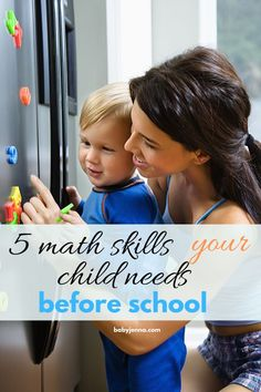 The math skills a toddler needs to get ready for kindergarten. #mathfortoddlerchildren #mathfortoddlernumberrecognition #mathfortoddleractivitiesforkids #mathfortoddlerlearning Educational Activities For Kids, Fun Learning, Toddler Activities, Mindful Parenting, Parenting Advice, Kids And Parenting, Toddler Playroom, Potty Training Tips, Baby Development