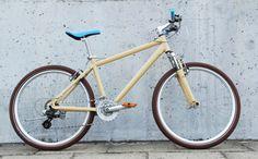Restored mountain bike