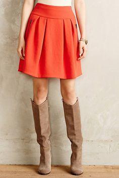 Scarlet Swing Skirt - anthropologie.com #anthrofave