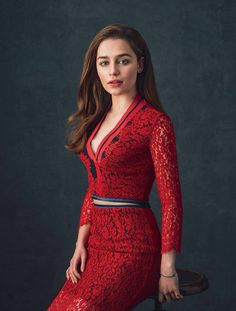 Emilia Clarke for IO Donna Magazine