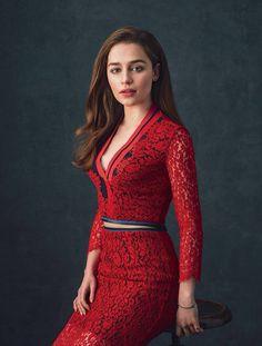 Emilia Clarke for IO Donna Magazine