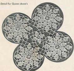Totally Free Crochet Pattern Blog - Patterns: 1940s Queen Anne's Lace Motif Free Crochet Pattern