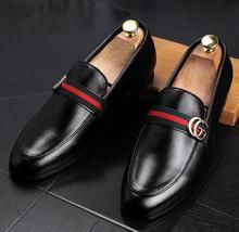 Casual GUCCI Leather Loafers – Boss Styles Co Gucci Leather Shoes, Gucci Dress Shoes, Casual Leather Shoes, Leather Loafers, Leather Boots, Mens Casual Dress Shoes, Trendy Shoes, Mens Loafers Shoes, Loafer Shoes