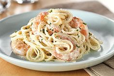 Creamy Shrimp Alfredo [easy revisions for camping][even, using chicken]
