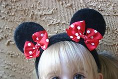 Fashionable Teddybear: DIY:Minnie Mouse Headband