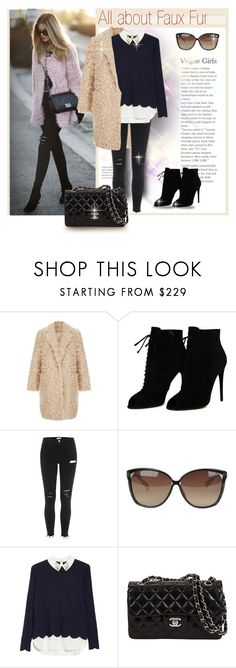 """""""All About Faux Fur"""" by sara-cdth ❤ liked on Polyvore featuring Tom Ford, Linda Farrow and Ted Baker"""