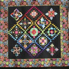 Affairs of the Heart Quilt (smaller version)- made by the Austin Area ...