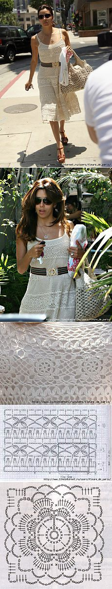 vestido de ganchillo