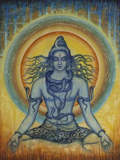 shiva old paintings - Google Search | We Heart It
