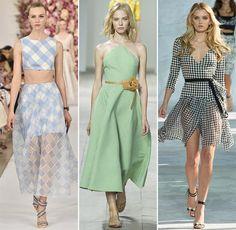 Spring/ Summer 2015 Print Trends: Gingham Patterns