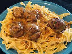 Mom's Swedish Meatballs Recipe by Marybeth Mank