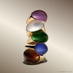 Oliva rings by Vhernier Latest Jewellery Trends, Jewelry Trends, Luxury Jewelry, Modern Jewelry, Earring Trends, Italian Jewelry, Crown Jewels, Pearl Jewelry, Fashion Rings