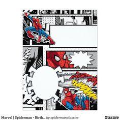 Invitación Hombre araña de la maravilla el | - cumpleaños Kids Birthday Themes, Fourth Birthday, Birthday Design, Spiderman Birthday Invitations, Birthday Party Invitations, Birthday Cards, Hulk Party, Superhero Party, Black Spiderman