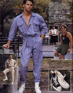 late 80s mens fashions 1989 Retro Fashion Mens, Punk Fashion, Vintage  Fashion, Vintage 9a9275016d0