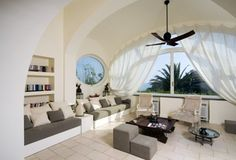 Resultado de imagen para estilo mediterraneo interiores