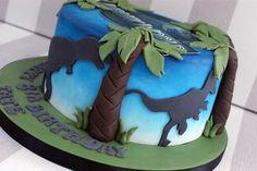jurassic world cake - Google Search