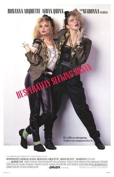 """Desperately Seeking Susan is a 1985 American comedy-drama film directed by Susan Seidelman and starring Rosanna Arquette and Madonna. Roberta (Rosanna Arquette) is an unfulfilled suburban housewife living in Fort Lee, New Jersey who is fascinated with a woman she only knows about by reading messages to and from her in the personals section of a New York City tabloid. This fascination reaches a peak when one such ad with the headline """"Desperately Seeking Susan"""" proposes a rendezvous in…"""