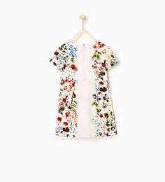 Image 2 of Floral dress from Zara Little Fashion, Kids Fashion, Melissa Shoes, Zara Kids, Stylish Kids, My Princess, Kind Mode, Pretty Little, Floral Tops