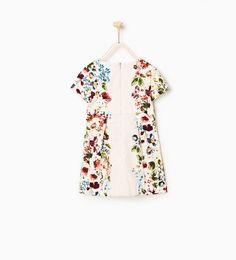 ZARA - DZIECI - Sukienka w kwiaty