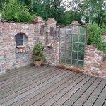 Inspirationen für Ruinenmauern im Garten