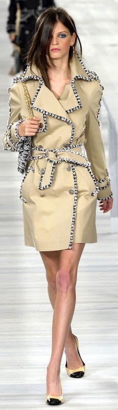 Chanel ~ Couture Spring Coat 2004