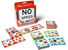 Amazon.com: No Speed Limit: Toys & Games// Great game for families with young children or for adults. It's cooperative and competitive. It's fast and fun. It's easy to learn.// We own.