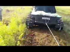 Снегоболотоход Охотец Вездеход - Тракторец Гусеничные мини амфибии