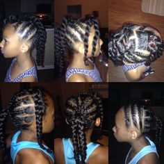 Simple hair styles for children
