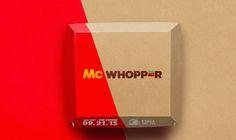 McWhopper; een samenwerking voor de Internationale Dag van de Vrede die McDonalds niet aan wilde gaan.