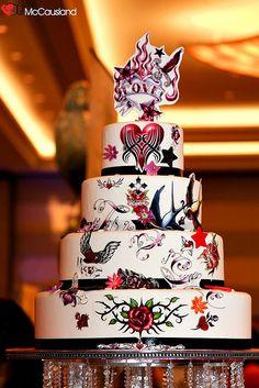 Rockabilly Cake Decorations