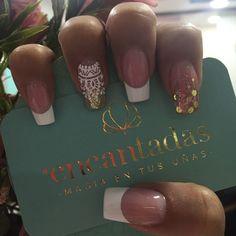 - Best ideas for decoration and makeup - Perfect Nails, French Nails, Love Nails, Brush Set, Beautiful Hands, Nail Designs, Hair Beauty, Make Up, Nail Art