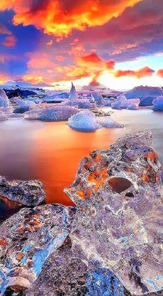 Google+Jökulsárlón Glacier Lagoon in Iceland !!!