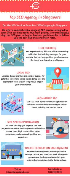Looking for the best SEO Company in Singapore? We offer a comprehensive range of SEO services designed to cater your business needs. Hire the top SEO experts. Seo Marketing, Online Marketing, Digital Marketing, Landing Page Optimization, Ecommerce Seo, Website Analysis, Seo Specialist, Best Seo Services, Best Seo Company