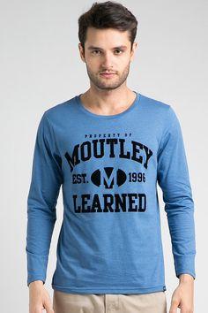 Longsleeve Mtly Blue