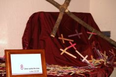 Ignite Holy Week with Creative Stations of the Cross Design a station of the cross. Lent Prayers, Easter Prayers, Holy Week Activities, Easter Activities, Easter Prayer Stations, Holy Week Prayer, Creative Connections, Catholic Crafts, Easter Story