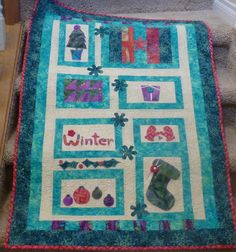 Falling Snow, as featured in Best Christmas Quilts 2013