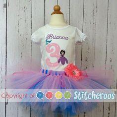 Sophia the first birthday tutu and shirt