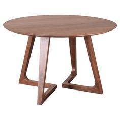 Gildea Round Dining Table - Scandinavian Modern on Joss & Main