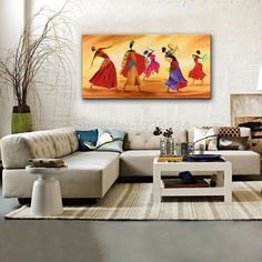 Ideal for every room, the canvas will come unframed. If you need a framework, please contact us, Canvas Painting - Hand painted African Dance - Wall Art Beautifully crafted with great care Delivered within days of satisfied customers Lifetime warranty African Dance, Canvas Painting Landscape, Wooden Hangers, State Art, Home Decor Items, Wall Decor, Hand Painted, House Design, Living Room