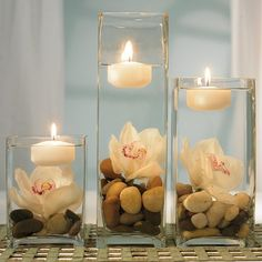 Wedding candle decoration